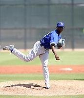 Rubby De La Rosa / Los Angeles Dodgers 2008 Instructional League..Photo by:  Bill Mitchell/Four Seam Images