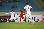 Syria vs Oman during the Olympic Qualifying 2012 Playoff group match on March 25, 2011 at the My Dinh National Stadium in <br /> Hanoi, Vietnam. Photo by World Sport Group