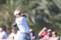 Sergio Garcia (ESP) on the 14th tee during the 3rd round of the Abu Dhabi HSBC Championship, Abu Dhabi Golf Club, Abu Dhabi,  United Arab Emirates. 18/01/2020<br /> Picture: Fran Caffrey | Golffile<br /> <br /> <br /> All photo usage must carry mandatory copyright credit (© Golffile | Fran Caffrey)