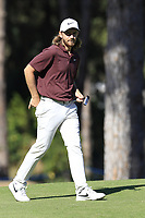 Tommy Fleetwood (ENG) on the 3rd hole during Saturday's Round 3 of the 2018 Turkish Airlines Open hosted by Regnum Carya Golf &amp; Spa Resort, Antalya, Turkey. 3rd November 2018.<br /> Picture: Eoin Clarke | Golffile<br /> <br /> <br /> All photos usage must carry mandatory copyright credit (&copy; Golffile | Eoin Clarke)