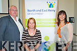 North & East Kerry Development AGM : Attending the annual general meeting of the North & East Kerry Development held at the Listowel Family Resource Centre on Thursday evening last were Dave Fitzgibbbon, Anita Bodenham & Elaine Kennedy.
