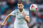 Nacho Fernandez of Real Madrid in action during the Santiago Bernabeu Trophy 2017 match between Real Madrid and ACF Fiorentina at the Santiago Bernabeu Stadium on 23 August 2017 in Madrid, Spain. Photo by Diego Gonzalez / Power Sport Images