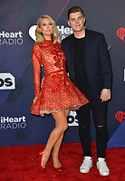 Paris Hilton &amp; Chris Zylka at the 2018 iHeartRadio Music Awards at The Forum, Los Angeles, USA 11 March 2018<br /> Picture: Paul Smith/Featureflash/SilverHub 0208 004 5359 sales@silverhubmedia.com