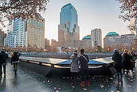 New York, NY 20 November 2014 September 11th Memorial and Museum