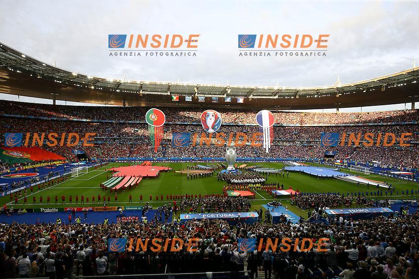 Cerimonia di Chiusura. Closing Ceremony <br /> Paris 10-07-2016 Stade Saint Denis Football Euro2016 Portugal - France / Portogallo - Francia Final - Finale <br /> Foto Gwendoline Le Goff / Panoramic / Insidefoto