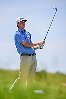 J.T. Poston (USA) watches his tee shot on 13 during Friday's round 2 of the 117th U.S. Open, at Erin Hills, Erin, Wisconsin. 6/16/2017.<br /> Picture: Golffile | Ken Murray<br /> <br /> <br /> All photo usage must carry mandatory copyright credit (&copy; Golffile | Ken Murray)