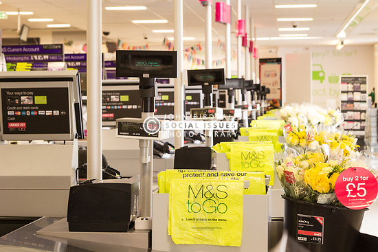 Marks & Spencer, Lakeside shopping centre, Thurrock, Essex UK 2014