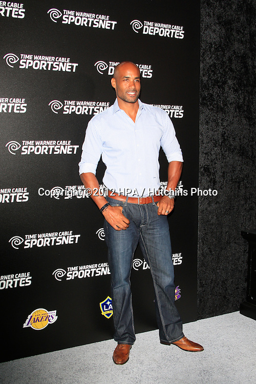 LOS ANGELES - OCT 30:  Boris Kodjoe arrives at the Time Warner Sports Launch of TWC Sportsnet at TWC Sports Studios on October 30, 2012 in El Segundo, CA