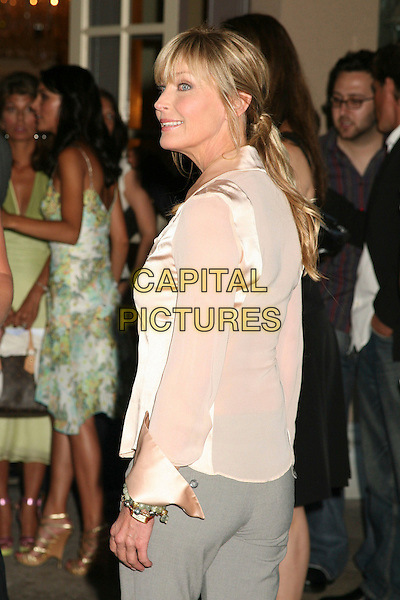 "BO DEREK.MyNetworkTV TCA Presentation of ""Desire"" & ""Fashion House"", Pasadena, California, USA, 20 July 2006..half length shirt rear back behind.Ref: ADM/BP.www.capitalpictures.com.sales@capitalpictures.com.©Byron Purvis/AdMedia/Capital Pictures."
