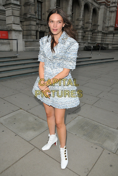 Anna Brewster at the Frida Kahlo: Making Her Self Up exhibition VIP private view, Victoria and Albert Museum, Cromwell Road, London, England, UK, on Wednesday 13 June 2018.<br /> CAP/CAN<br /> &copy;CAN/Capital Pictures
