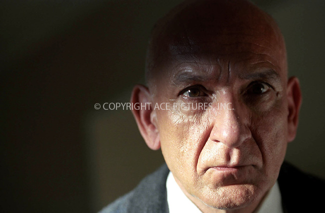 Actor BEN KINGSLEY in the drama 'House of Sand and Fog.' 2003....Ref: TVSL0001. NY Photo Press does not claim any Copyright or License in the attached material. The attached material intended for reference or research. By publishing this material, the user expressly agrees to indemnify and to hold NY Photo Press harmless from any claims, demands, or causes of action arising out of or connected in any way with user's publication of the material.....NY Photo Press:  ..phone (646) 267-6913;   ..e-mail: info@nyphotopress.com