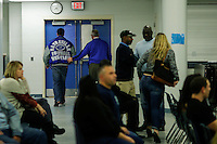Sayreville's school holds a Board of Education meeting for discussing the continuity of the coaches involved in scandal of sexual assault by the school's football team in Parlin, New Jersey 10.21.2014. Photo by Eduardo MunozAlvarez/VIEWpress