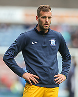 Preston North End's Tommy Spurr<br /> <br /> Photographer Alex Dodd/CameraSport<br /> <br /> The EFL Sky Bet Championship - Huddersfield Town v Preston North End - Friday 14th April 2016 - The John Smith's Stadium - Huddersfield<br /> <br /> World Copyright &copy; 2017 CameraSport. All rights reserved. 43 Linden Ave. Countesthorpe. Leicester. England. LE8 5PG - Tel: +44 (0) 116 277 4147 - admin@camerasport.com - www.camerasport.com