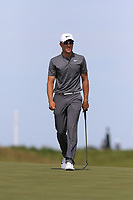 Cameron Champ (AM)(USA) on the 6th green during Friday's Round 2 of the 117th U.S. Open Championship 2017 held at Erin Hills, Erin, Wisconsin, USA. 16th June 2017.<br /> Picture: Eoin Clarke | Golffile<br /> <br /> <br /> All photos usage must carry mandatory copyright credit (&copy; Golffile | Eoin Clarke)