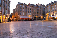 Place du Parlement bordeaux france