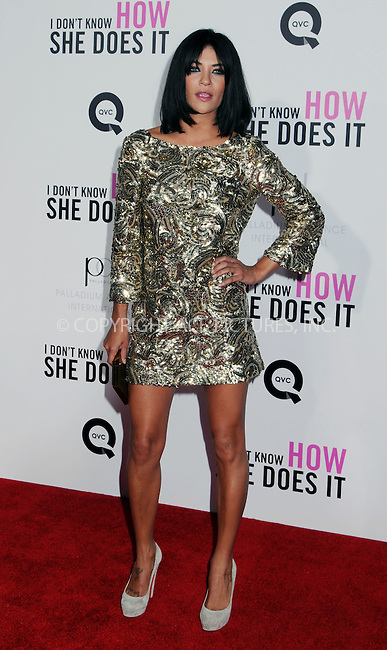 WWW.ACEPIXS.COM . . . . .  ....September 12 2011, New York City....Jessica Szohr arriving at The premiere of 'I Don't Know How She Does It' at AMC Loews Lincoln Square on September 12, 2011 in New York City. ....Please byline: JOE EAST - ACE PICTURES.... *** ***..Ace Pictures, Inc:  ..Philip Vaughan (212) 243-8787 or (646) 679 0430..e-mail: info@acepixs.com..web: http://www.acepixs.com