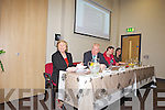 Minister Frances Fitzgerald and Minister Jimmy Dennihan pictured at official opening of the LIstowel Family Rescource Centre last Monday afternoon along with Jackie Landers and Pamela Meaney.