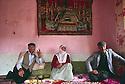 Turkey 1987.A Kurdish family in their house near Mardin.Turquie 1987.Famille kurde de la region de Mardin