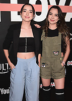"LOS ANGELES- OCTOBER 11:  Vanessa Merrell and Veronica Merrell at the premiere of ""Demi Lovato: Simply Complicated"" at The Fonda Theatre on October 11, 2017 in Los Angeles, California. (Photo by Scott Kirkland/PictureGroup)"