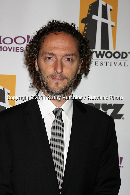 LOS ANGELES - OCT 24:  Emmanuel Lubezki arriving at the 15th Annual Hollywood Film Awards Gala at Beverly Hilton Hotel on October 24, 2011 in Beverly Hllls, CA