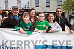 John, Colm and Bernadette Kissane (Barleymount), Donnacha Kissane O'Sullivan, Ann and Paul Lynch (Tralee Manor West cycling club) at the Rás Mumhan cycling in Killorglin on Easter Monday.