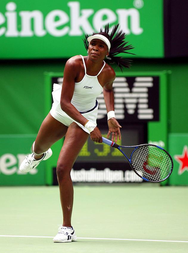 Venus Williams, Australian Tennis Open 2004, Melbourne, Australia
