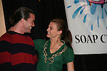 Tom Pelphrey & Gina Tognoni are manaquins in a skit  - So Long Springfield celebrating 7 wonderful decades of Guiding Light Event (Saturday afternoon) come to see fans at the Hyatt Regency Pittsburgh International Airport, in Pittsburgh, PA. during the weekend of October 24 and 25, 2009. (Photo by Sue Coflin/Max Photos)