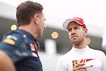 Sebastian Vettel (GER), <br /> OCTOBER 8, 2016 - F1 : Japanese Formula One Grand Prix Qualifying <br /> at Suzuka Circuit in Suzuka, Japan. (Photo by Sho Tamura/AFLO SPORT) GERMANY OUT