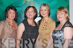 Setting the standard at the Macbees fashion show in the Killarney Park Hotel on Saturday was l-r: Mary Kelleher Killorglin, Eileen Kennedy Caragh Lake, Gemma and Noreen Ring Ballydesmond .