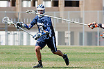 Beverly Hills, CA 04/12/10 - Kenneth Patricia (Loyola # 28) in action during the Loyola-Beverly Hills Boys Varsity Lacrosse game at Beverly Hills High School, Loyola defeated Beverly Hills 16-0.