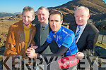 Pictured at the launch of Kerry Group Ras Mumhan at Molls Gap on Thursday were Mary Concannon, race secretary, Tadhg Moriarty, Race Director, Niall Brosnan and Frank Hayes, Kerry Group.