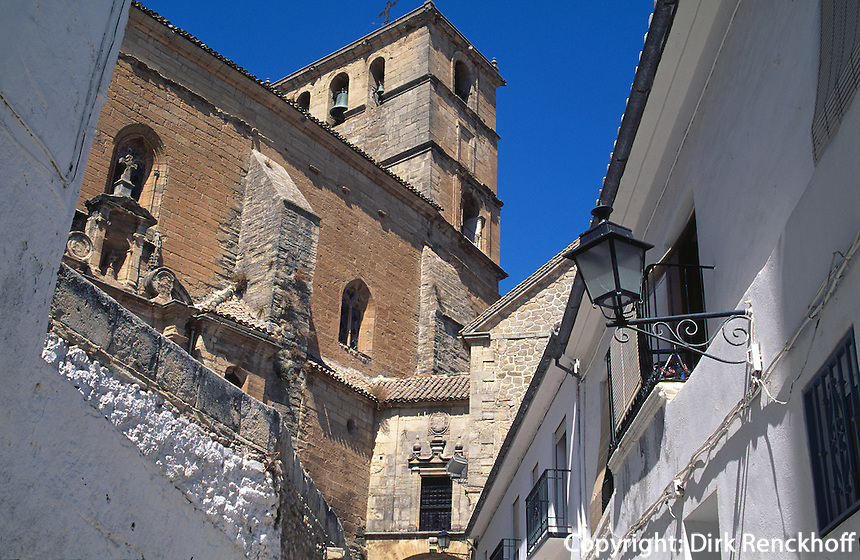 Spanien, Andalusien, Iglesia Major in Alhama de Granada