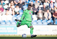 Paul Farman of Stevenage in action during Colchester United vs Stevenage, Sky Bet EFL League 2 Football at the JobServe Community Stadium on 5th October 2019