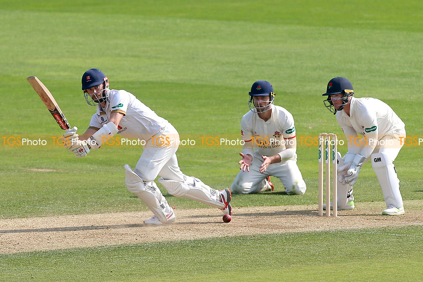 James Foster in batting action for Essex during Essex CCC vs Lancashire CCC, Specsavers County Championship Division 1 Cricket at The Cloudfm County Ground on 21st April 2018