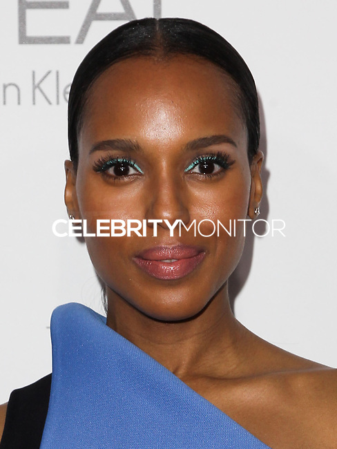 BEVERLY HILLS, CA, USA - OCTOBER 20: Kerry Washington arrives at ELLE's 21st Annual Women In Hollywood held at the Four Seasons Hotel on October 20, 2014 in Beverly Hills, California, United States. (Photo by Celebrity Monitor)
