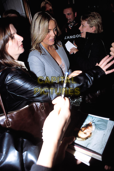 PATSY KENSIT.See You Next Tuesday UK premiere & press night.fans, signing autographs, mobbed.www.capitalpictures.com.sales@capitalpictures.com.© Capital Pictures.