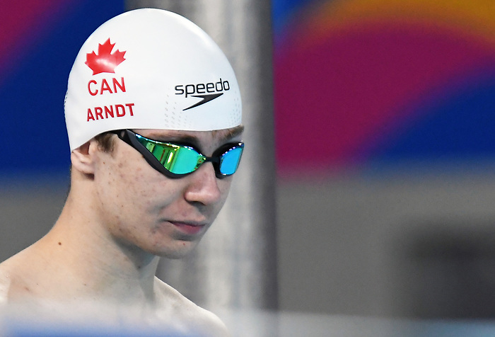 Caleb Arndt competes in Para Swimming at the 2019 ParaPan American Games in Lima, Peru-25aug2019-Photo Scott Grant