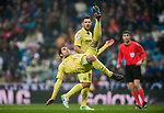 Manuel Trigueros Munoz of Villarreal CF in action during the La Liga 2017-18 match between Real Madrid and Villarreal CF at Santiago Bernabeu Stadium on January 13 2018 in Madrid, Spain. Photo by Diego Gonzalez / Power Sport Images