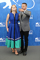 Amy Adams, Jeremy Renner attends a press conference for 'Arrival' during the 73rd Venice Film Festival at Palazzo del Casino on September 1, 2016 in Venice, Italy.<br /> CAP/GOL<br /> &copy;GOL/Capital Pictures /MediaPunch ***NORTH AND SOUTH AMERICAS ONLY***