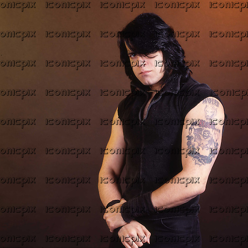 DANZIG - Glenn Danzig - photosession in London UK - 11 Oct 1988.  Photo credit: George Chin/IconicPix