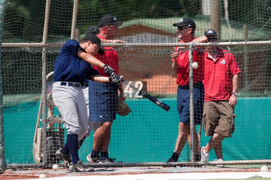 Baseball - MLB Academy - Tirrenia (Italy) - 19/08/2009 - Shawn Larry (Germany)