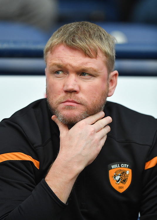 Hull City's Manager Grant McCann<br /> <br /> Photographer Dave Howarth/CameraSport<br /> <br /> The Carabao Cup Second Round - Preston North End v Hull City - Tuesday 27th August 2019  - Deepdale Stadium - Preston<br />  <br /> World Copyright © 2019 CameraSport. All rights reserved. 43 Linden Ave. Countesthorpe. Leicester. England. LE8 5PG - Tel: +44 (0) 116 277 4147 - admin@camerasport.com - www.camerasport.com