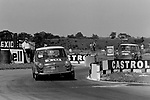 Rob Mason in saloon car action at Croft in 1969.