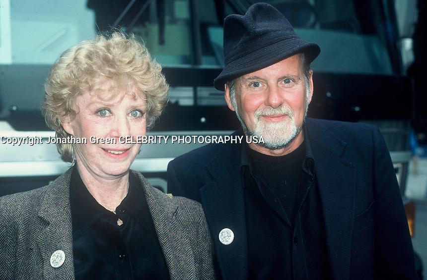 Gwen Verdon & Husband Choreographer .Bob Fosse in NYC 1987