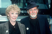 Gwen Verdon & Husband Choreographer .Bob Fosse in NYC 1987