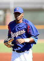 Engel Beltre / Texas Rangers 2008 Instructional League..Photo by:  Bill Mitchell/Four Seam Images