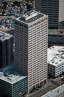 aerial photograph California Automobile Association Building 100 Van Ness Avenue office tower San Francisco