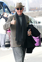 ARLINGTON, VA - FEBRUARY 3: Roger Stone seen arriving at Ronald Reagan Washington National Airport in Arlington, Virginia on his way to Boston on February 3, 2019. <br /> CAP/MPI/MPI34<br /> ©MPI34/MediaPunch/Capital Pictures