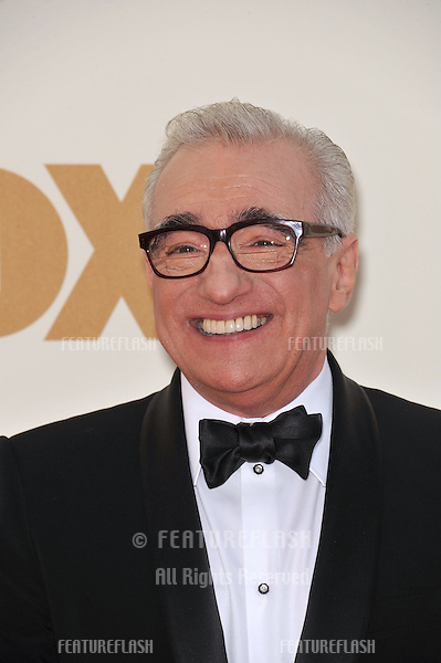 Martin Scorsese arriving at the 2011 Primetime Emmy Awards at the Nokia Theatre, L.A. Live in downtown Los Angeles..September 18, 2011  Los Angeles, CA.Picture: Paul Smith / Featureflash