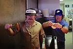Abel & Cook At Burger Barn